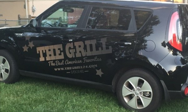 Lettering a Vehicle with Reflective Vinyl